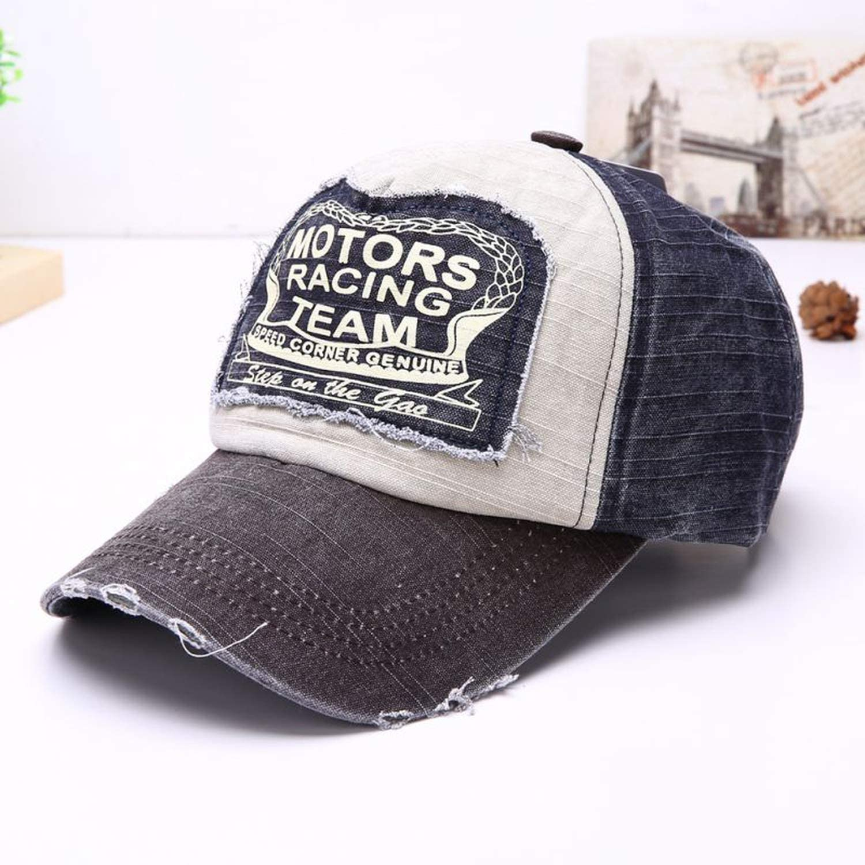 Vintage Denim Letter Baseball Cap Women Baseball Cap Men Adjustable Sun Hip-hop Jeans Hat Casual Cool