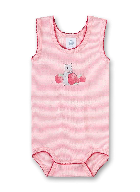 Sanetta Baby-Mädchen Formender Body W/O Striped W.Print 322472.0