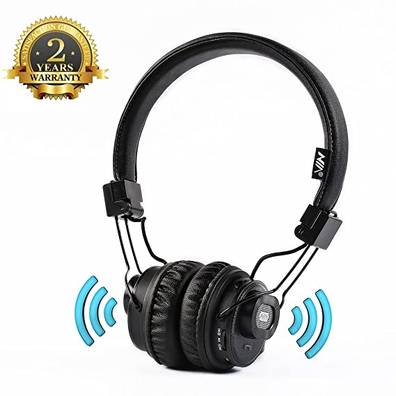 Bluetooth auriculares over Ear, aitalk x5sp altavoces inalámbricos y auriculares Control de Aplicación gratuita para