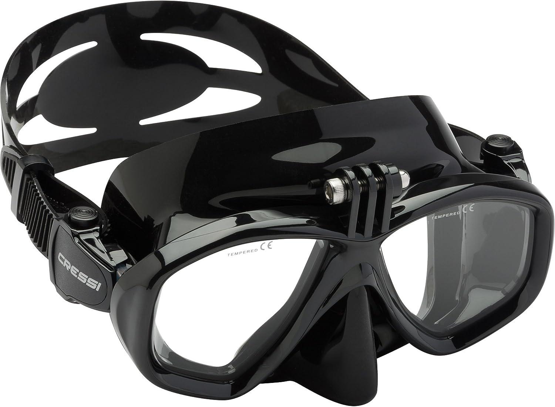 Cressi Action, máscara de buceo para cámara GoPro Unisex: Amazon.es: Deportes y aire libre