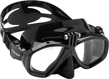 Cressi Action, máscara de buceo para cámara GoPro Unisex