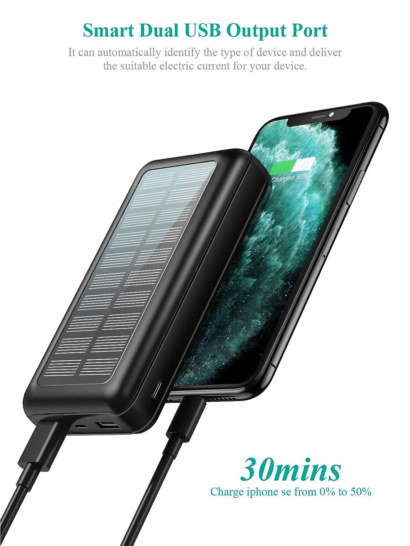 Power Bank Soxono Solar Charger 30000 mAh
