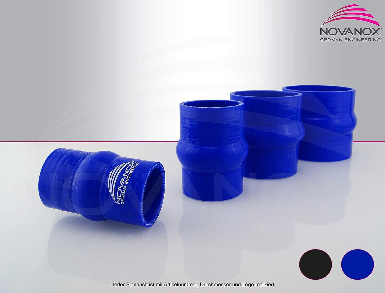 Tuyau en Silicone Flexible Bleu /Ø 80 mm