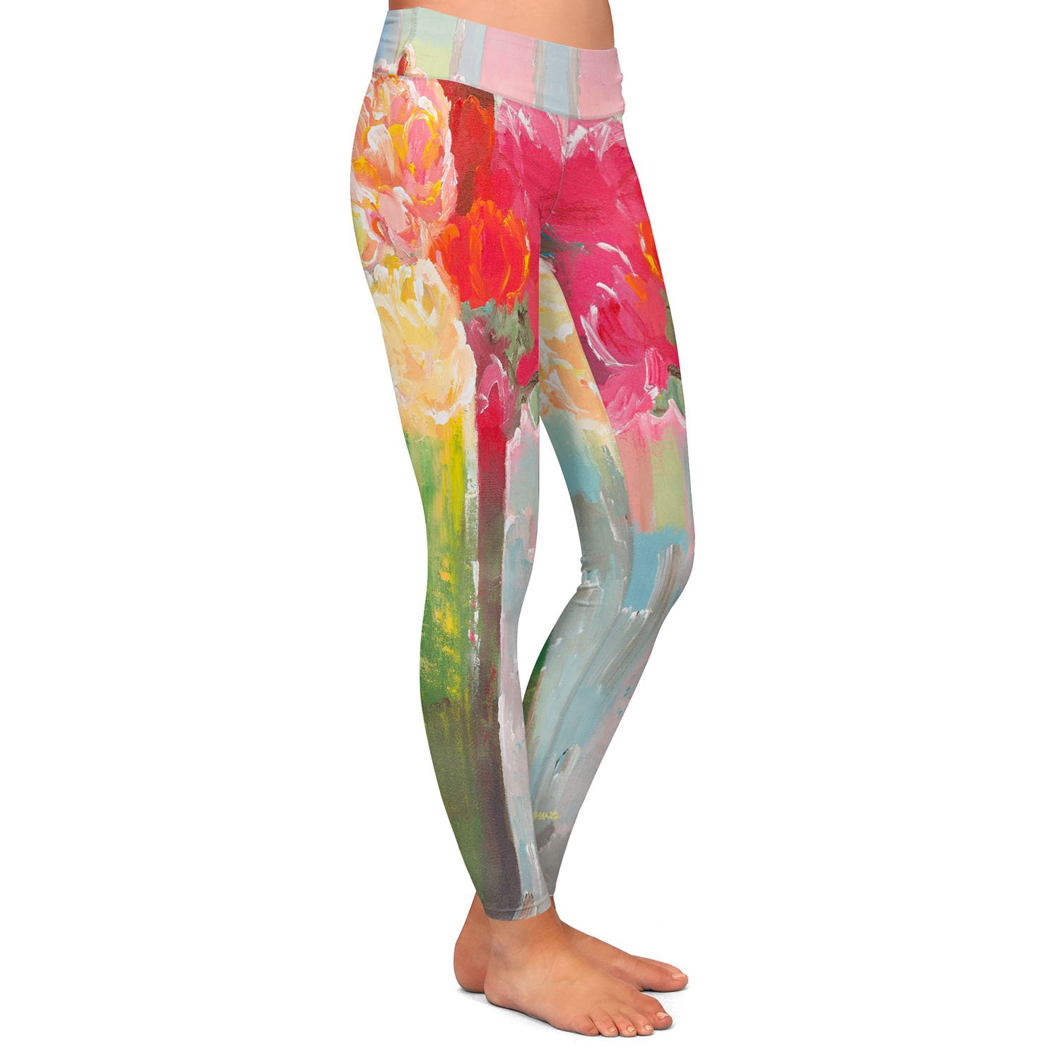 in The Sunlight Athletic Yoga Leggings from DiaNoche Designs by Hooshang Khorasani