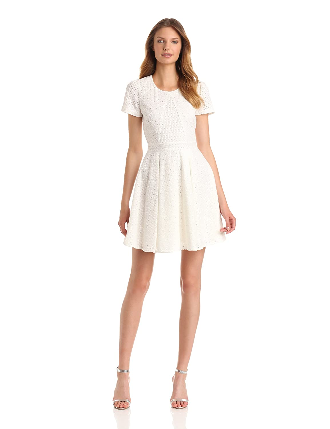 French Connection Womens Floral Flirtation Dress