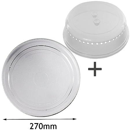 Spares2go Universal de 270 mm suave plana para plato ...