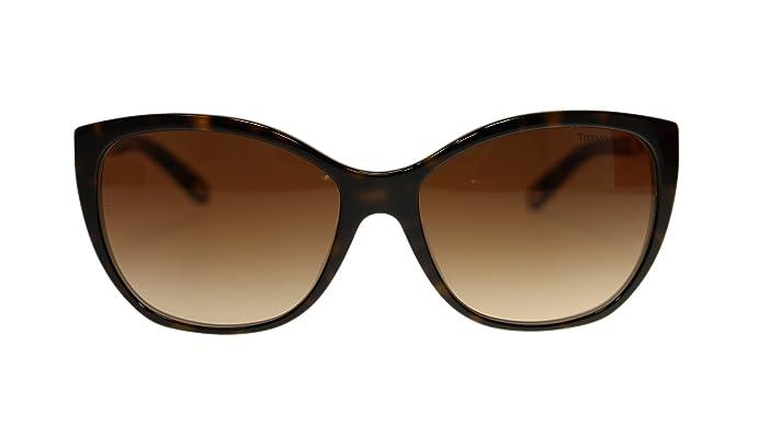 Tiffany TF4094 Sonnenbrille Havanna / Blau 81343B 59mm kwP4ja