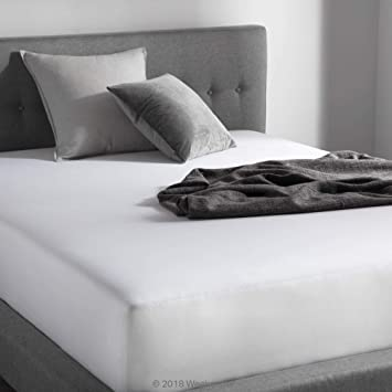 Hotel Laundry Cotton Rich Sheet Set Light Blue Twin