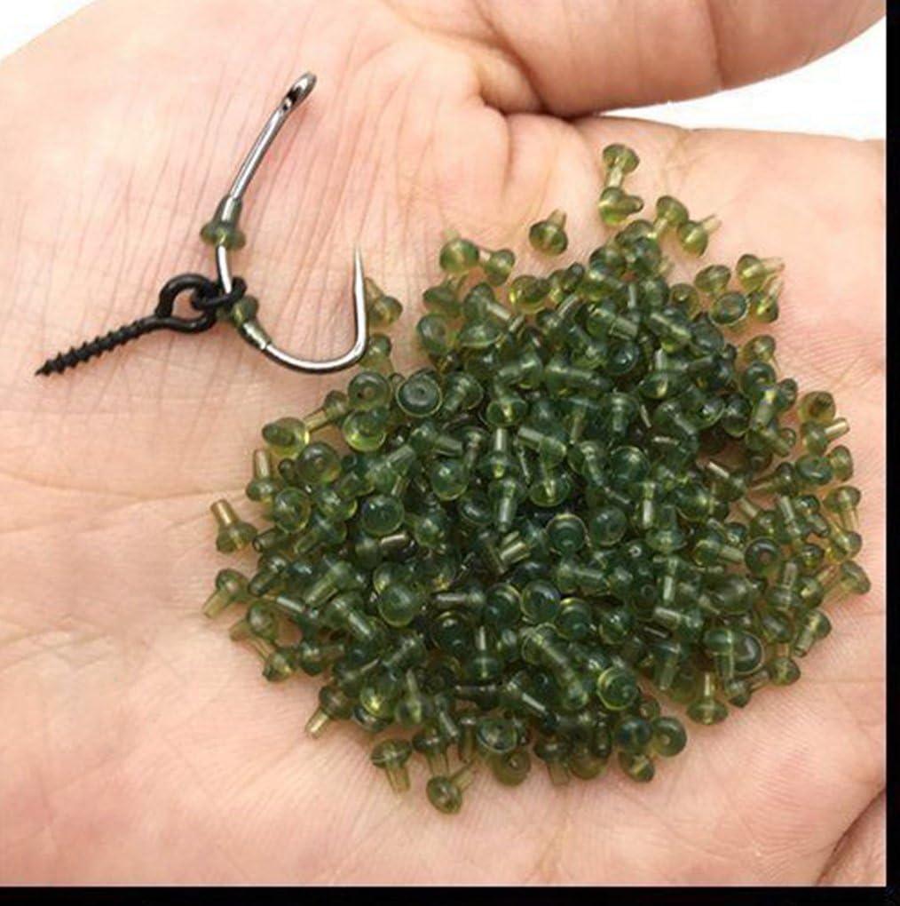 Details about  /Carp Rig Ring Stops /& Boilie Bait Screw Fishing Bait Ring Swivel Carp Fishing