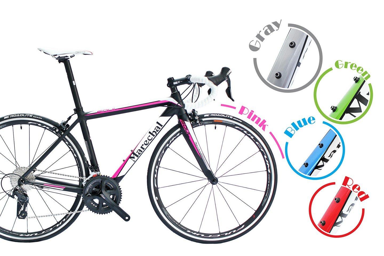 Marechal (マルシャル) Soul Road Bike Bicycle w/105 50/34t 170mm&Fulcrum (フルクラム) Racing Quattro Lg Rim ロードバイク Shimano(シマノ) 105 (5800)グループ サイズ 45/47/50/52cmから選択可 [並行輸入品] B07C61MMV8 47cm|Gray Gray 47cm