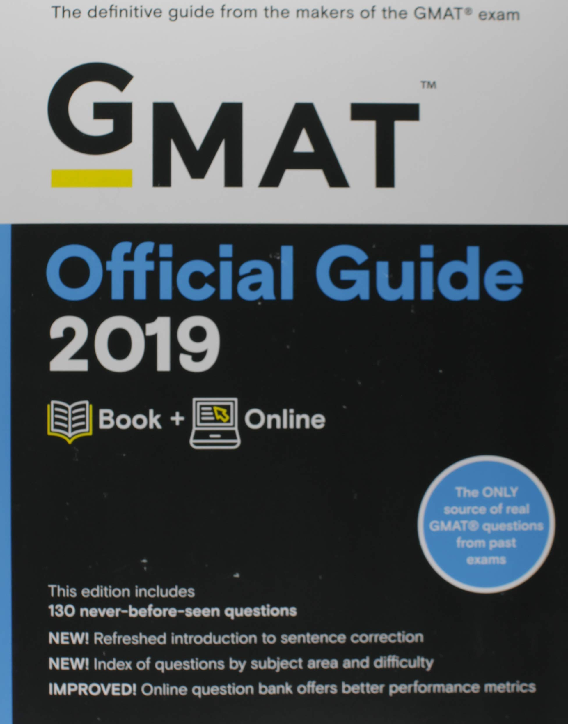 Online Book GMAT Official Guide 2019