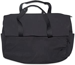 "Lululemon Early Embark Duffel Bag XL 18"" x 8"" x 13"" Black Oversize Messenger or Shoulder Bag"