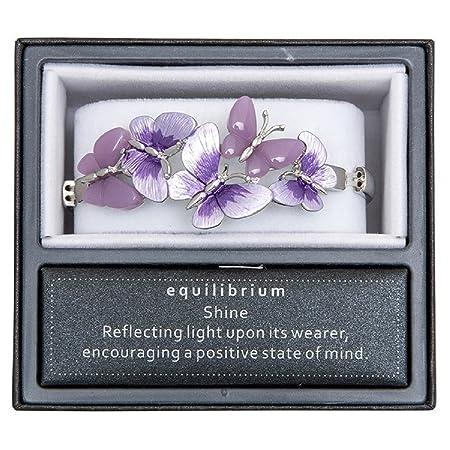 Equilibrium Bracelet - Purple Butterflies UEGchHe0