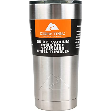 2a07b064d0c Ozark Trail 20-ounce Double-Wall vacuum-sealed Tumbler