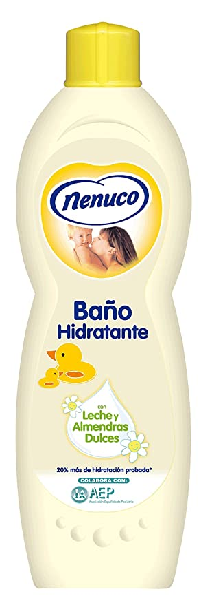 Nenuco jabón de Baño Hidratante para Bebé - 750 ml