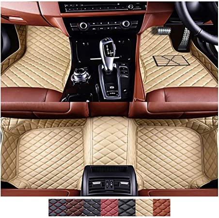 Sadge Auto Fußmatten Pu Leder Boden Teppich Set Wasserdichte Autoteppiche Passend Für Mazda Cx 5 2012 2016 Sport Freizeit