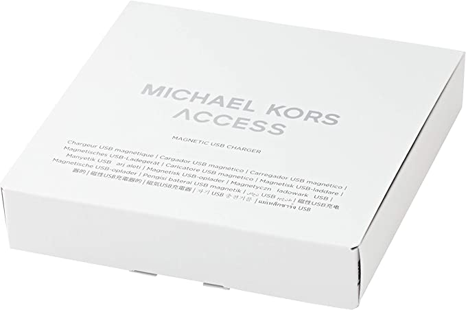 Michael Kors Access Smartwatch Charger - White (Model: MKT0002) Compatible with Access Heart Rate models