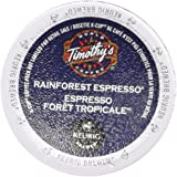 Rainforest K-Cup Espresso | Timothy's | 24 K Cups
