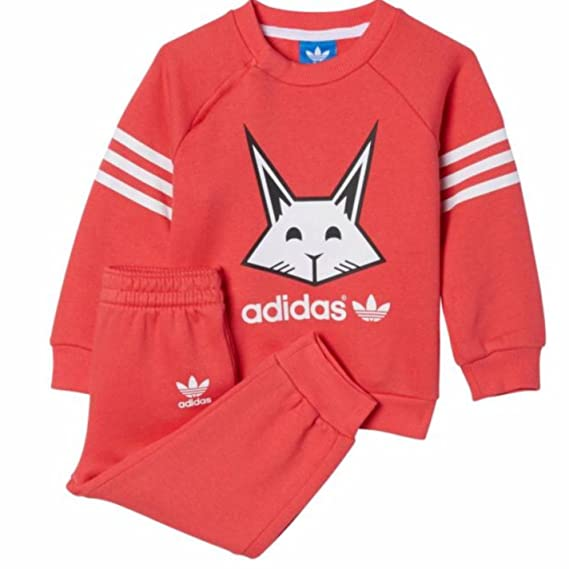 bcb7b67e22d5a adidas - Ensemble de Sport - Bébé (Fille) - Rose -  Amazon.fr ...