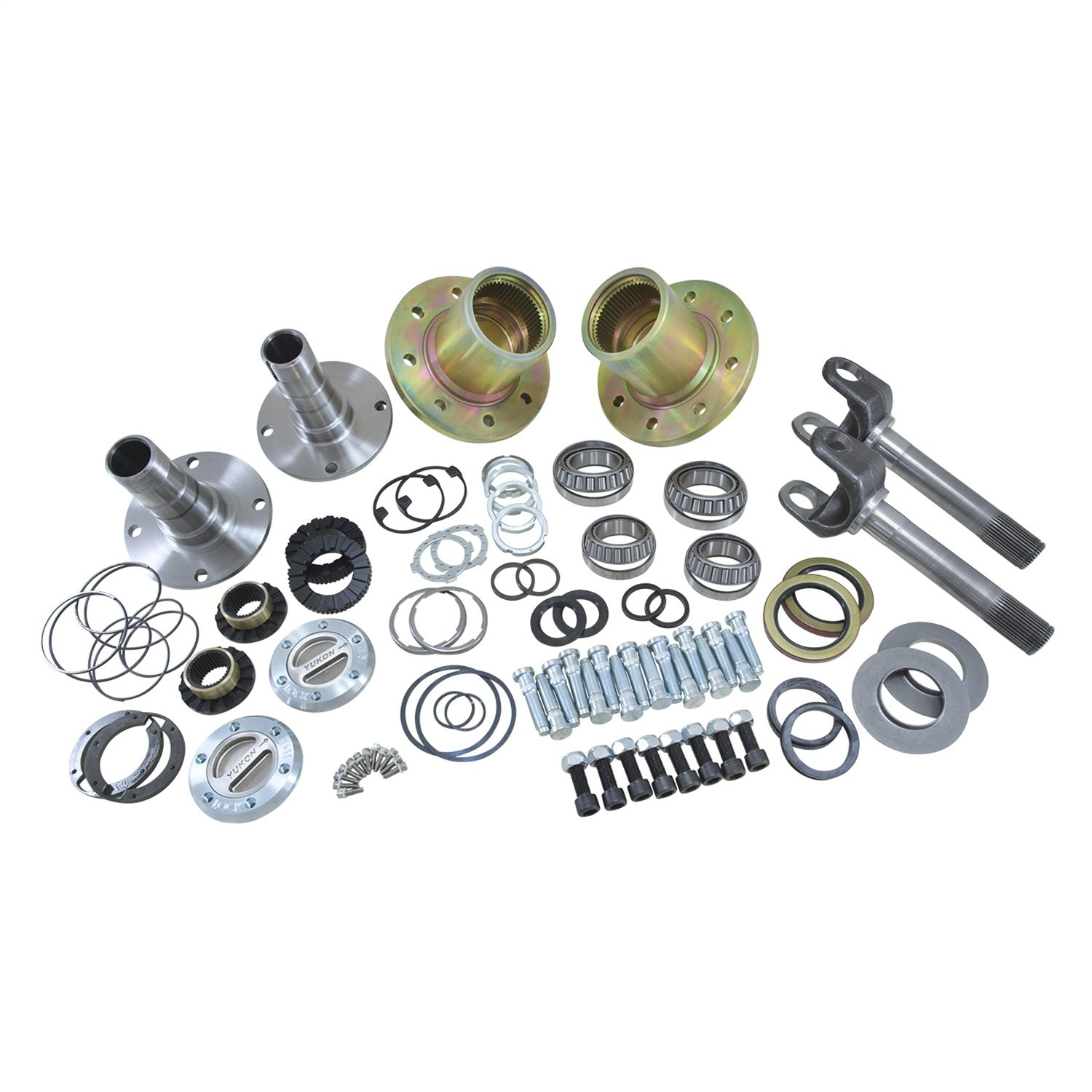 Yukon (YA WU-03) Spin Free Locking Hub Conversion Kit for Dodge Dana 60 Differential Yukon Gear