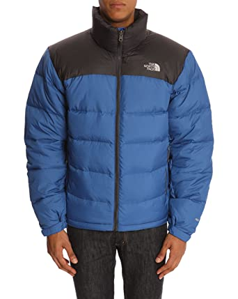 0118bbd2b8 THE NORTH FACE - Down Jackets - Men - Nuptse 2 Blue and Grey Down Jacket  for men - M  Amazon.co.uk  Clothing