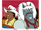 2 Bravestarr Original Animation Production Cel