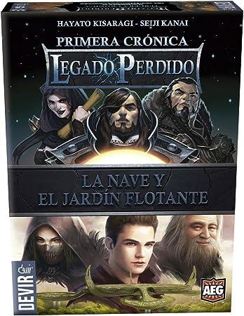 Devir - Legado perdido 3, el Grial Sagrado y el báculo de Dragones (BGLEG3): Amazon.es: Juguetes y juegos