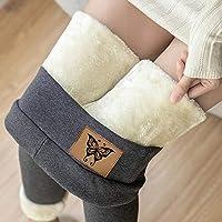 jessboyy Leggings Térmicos Pantalones Mujer Invierno, Leggings de Cintura Alta para Mujer, Elásticos Forrado de…