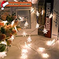 Feeke Halloween Lights Battery Operated Halloween Decorations String Lights for Outdoor and Indoor