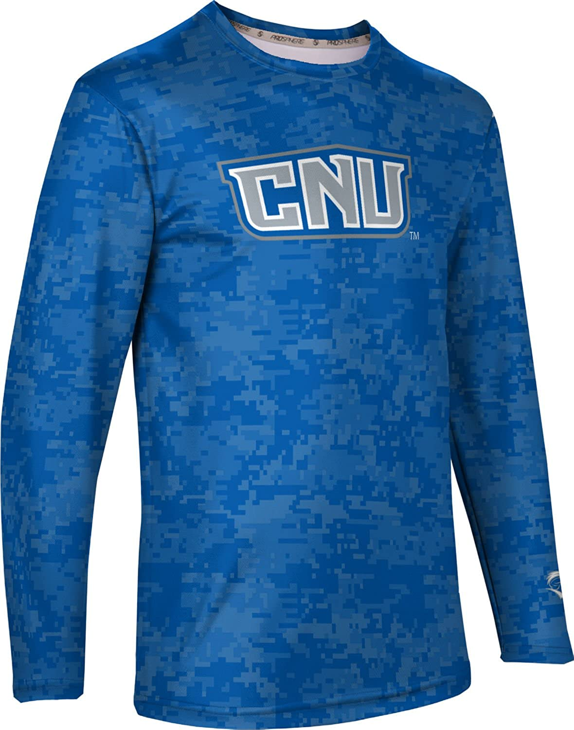 ProSphere Christopher Newport University Mens Long Sleeve Tee Digi Camo