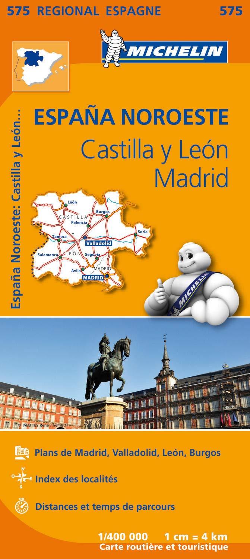 Espana noroeste : castilla y leon, madrid Régional Espagne: Amazon.es: Michelin: Libros en idiomas extranjeros