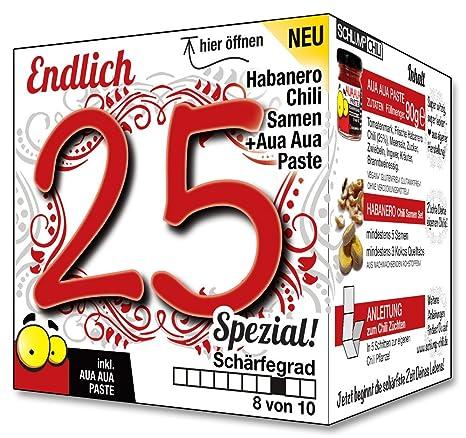 Geburtstag mann 25