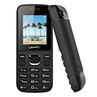 Uleway Basic Cell Phone Unlocked 3G Big Icon Easy to Use Feature Phone with LED Torch ATT Unlocked Cell Phones for Kids, Seniors (H20 /Pure Talk/Cricket) (Black)