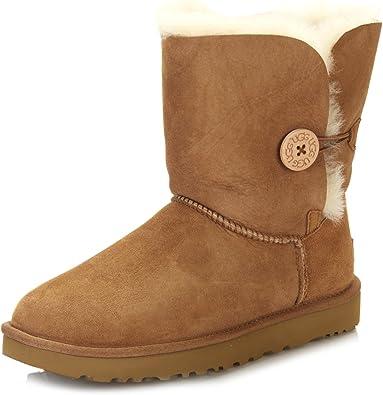 soborno Goma articulo  UGG Bailey Button II, Botas de Nieve para Mujer: Amazon.es: Zapatos y  complementos