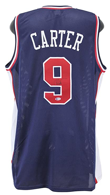 Vince Carter Autographed Jersey - Blue USA BAS Witnessed - Beckett  Authentication - Autographed NBA Jerseys 3e2026120