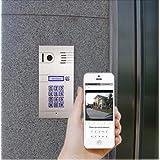 Tür Sprechanlage wifi IP Video HD - Türzugang von Ihnen iphone, ipad, Andriod Smartphone, PC