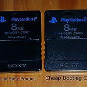Amazon.com: PlayStation 2 Memory Card (8MB): Playstation 2 ...