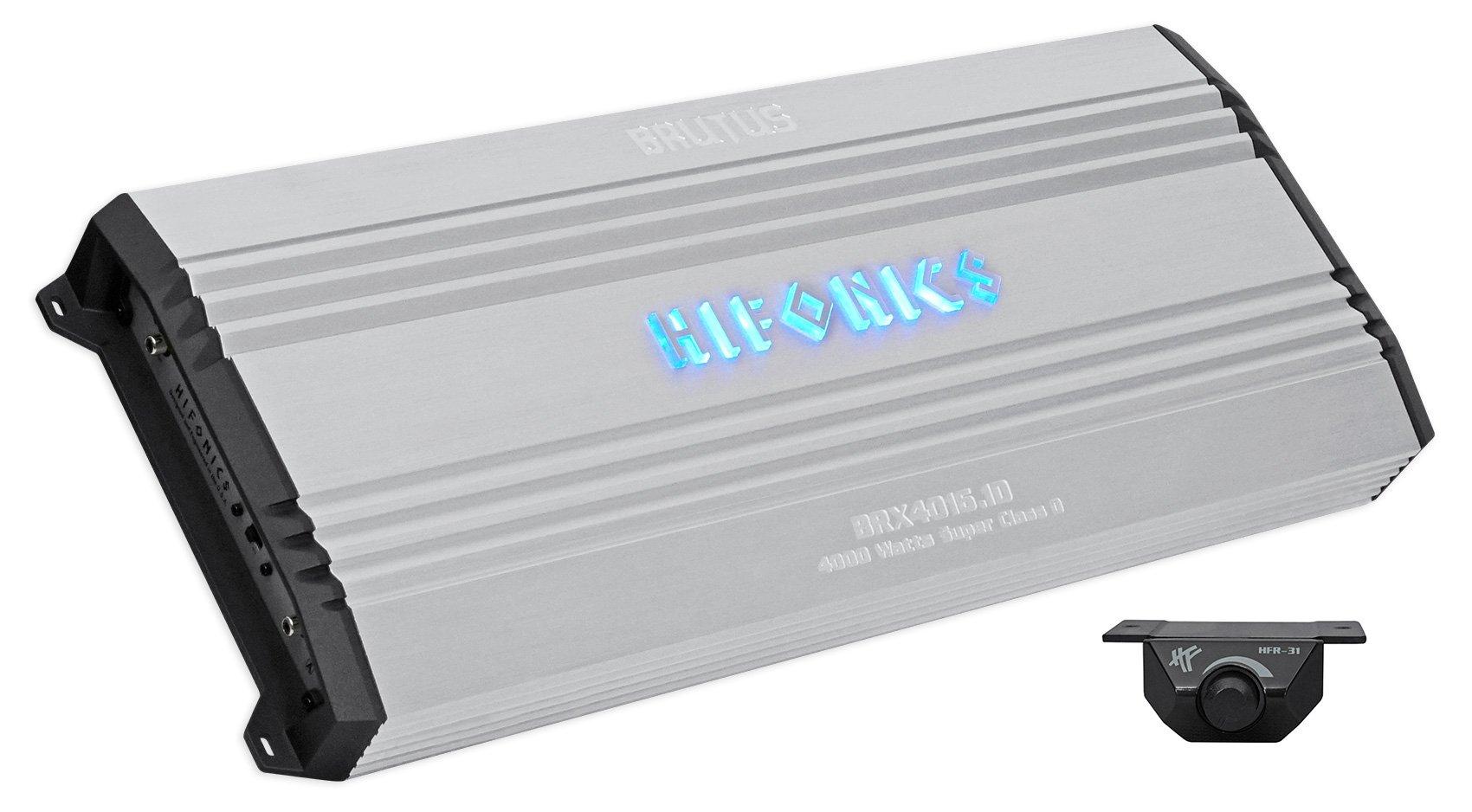 Hifonics BRX4016.1D Brutus 4000 Watt Mono Amplifier Car Audio Class-D Amp
