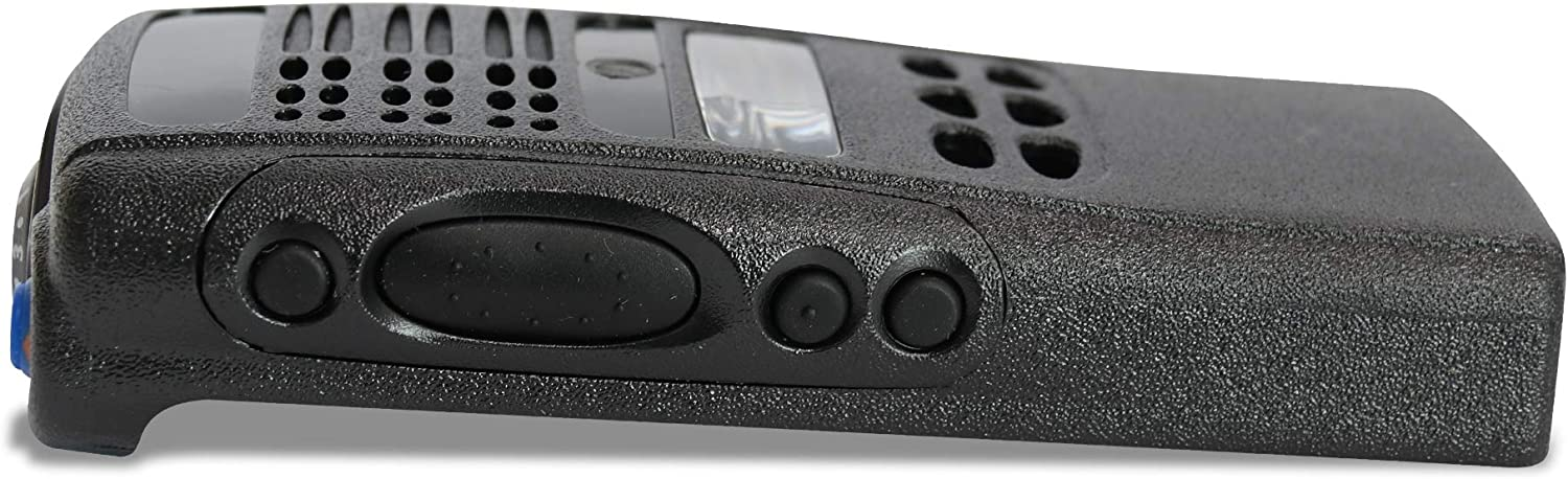 VBLL Black Replacement Repair Case Housing Cover for Motorola HT1250 Limited-keypad Portable Radio