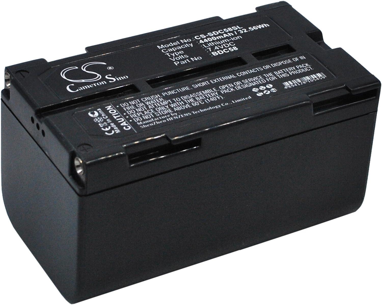 BDC58 BDC46B GAXI Battery for Sokkia GRX1 GPS receivers GRX1-GPS Receivers Replacement for P//N BDC46A GRX1 Receivers