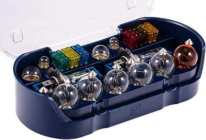 Juego de bombillas SIDCO® para automóvil 30 piezas, fusibles, juego de bombillas de repuesto para coche: Amazon.es: Coche y moto