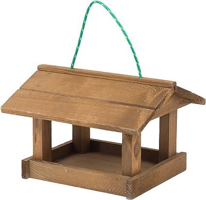ecologique en bois Mangeoire doiseaux du jardin differents modeles au choix; modele 1