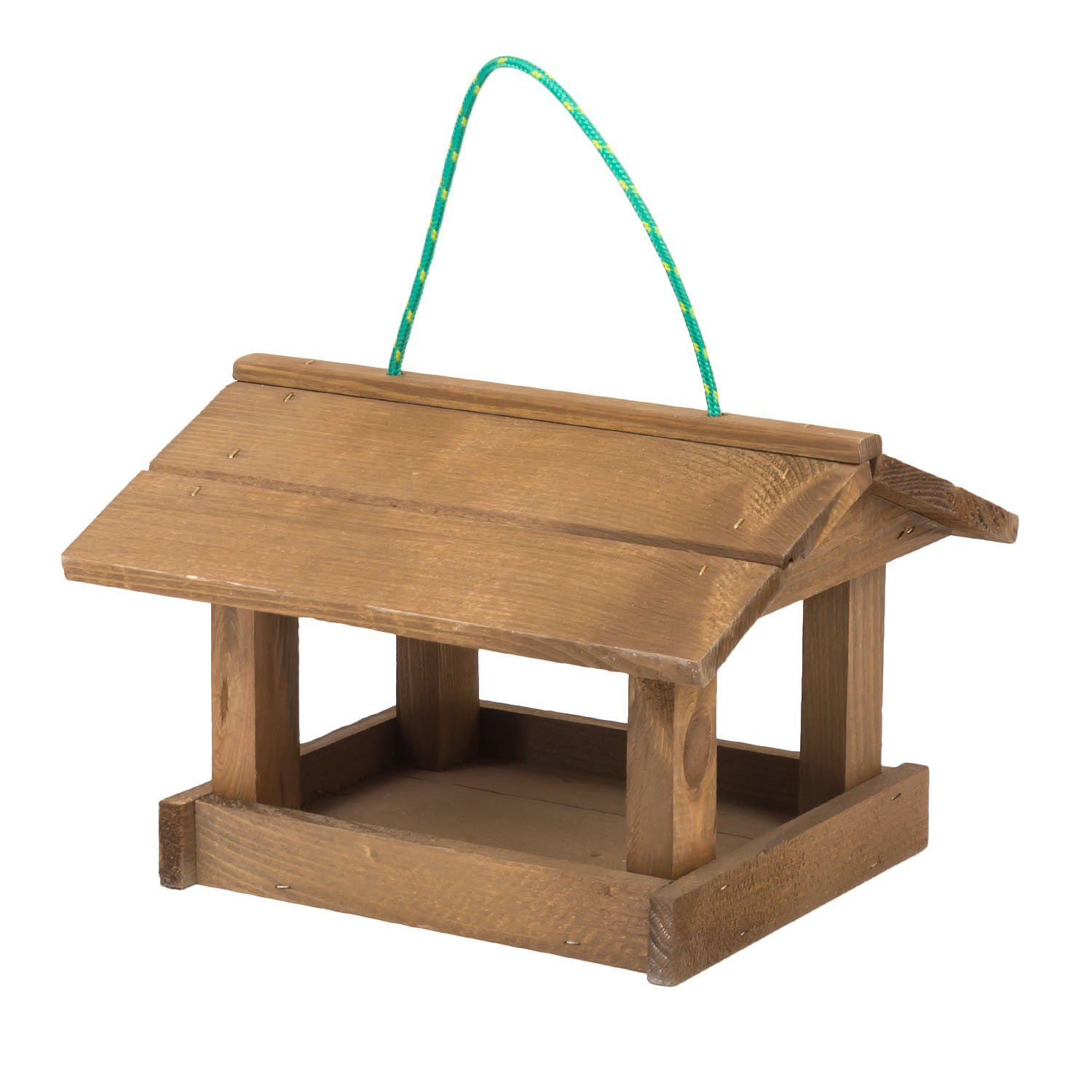 Eco Garden Hanging Wooden bird feeder feeding station table TINTOURS