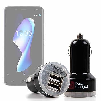 DURAGADGET Cargador De Mechero del Coche para Smartphone BQ ...