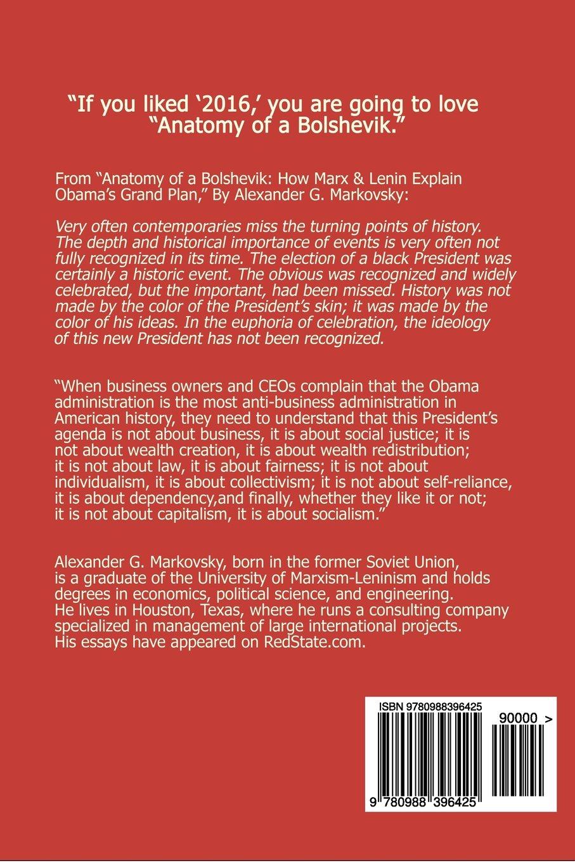 Anatomy Of A Bolshevik How Marx Lenin Explain Obamas Grand Plan