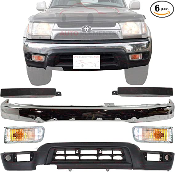 Partslink Number TO1089103 Sherman Replacement Part Compatible with Toyota 4-Runner Front Passenger Side Bumper Filler