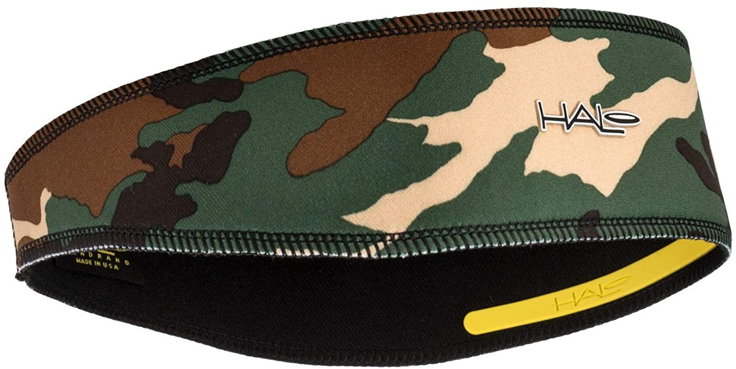 Halo II Headband Sweatband Pullover, Camo Green