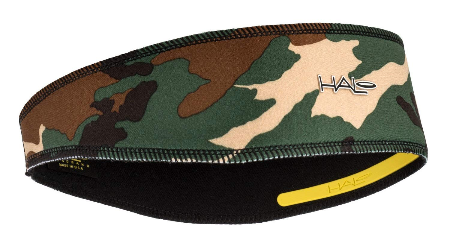 Halo II Headband Sweatband Pullover Camo Green by Halo Headbands
