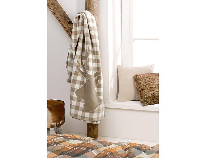 akzeptabler Preis erstklassig das beste massivum 20018910 S Oliver Baby Blanket, Cotton, Beige, 200 ...