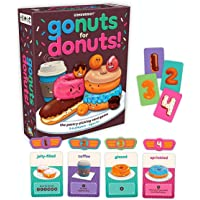 Gamewright Go Nuts For Donuts The Pastry-Picking Card Game